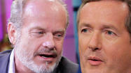Kelsey Grammer BOLTS from CNN Interview Over Camille Grammer Pic