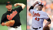 Jim Johnson matches Randy Myers' Orioles save record with his 45th