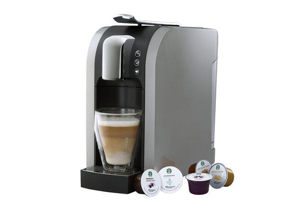 Starbucks started selling its Verismo single-serving machine this week.