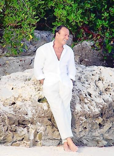 Julio Iglesias lives in the Dominican Republic and Miami, where he says he spends three months every year.