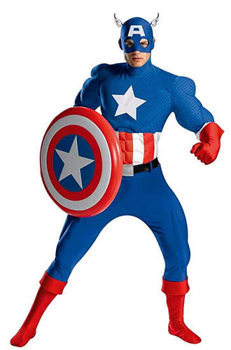 "Captain America promises to be popular. Featured in the mega-hit ""Avengers,"" you're likely to see all the superheros at your door asking for candy."