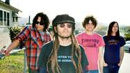 It's a press day for Keith Morris, frontman for the punk supergroup Off!, and the interviews are bumping against each other like elbows to rib cages in the pit at one of his shows.