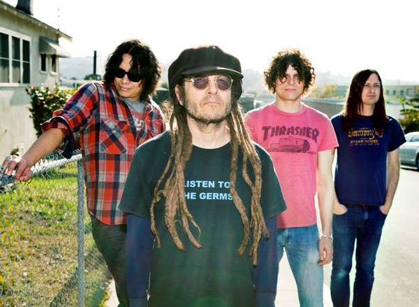 Keith Morris, second from left, formed Off! with members of Redd Kross, Burning Brides and Rocket From the Crypt.