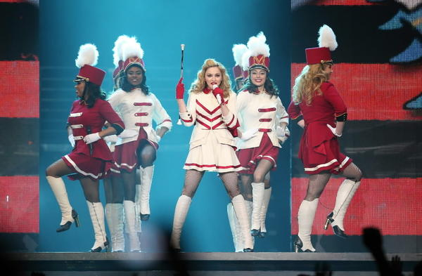 Madonna performs Sept. 19, 2012 at the United Center.