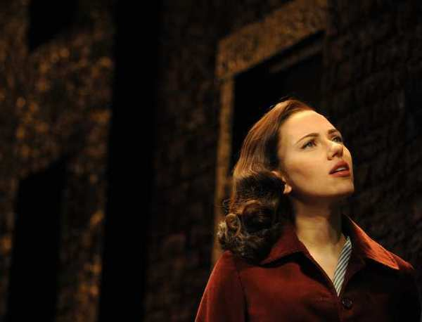 "Scarlett Johansson in the 2010 Broadway revival of Arthur Miller's ""A View From the Bridge."""