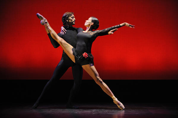 "Samuel Beckman and Christine Hodges-Thomas will dance ""Carmen Suite"" during ""The Great Pas de Deux Series V."""