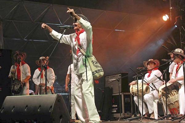 Los Gaiteros de San Jacinto are scheduled to perform at Chicago's annual World Music Festival.