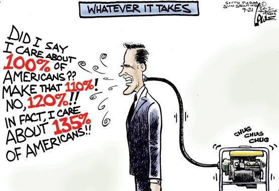 Romney's damage control