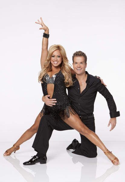 "<b>Partner:</b> Louis van Amstel <br><br> <b>""Star"" cred:</b> Member of ""The Cheetah Girls."" I still don't know what that was or is. And don't tell me either -- I like to think it has something to do with puffed cheese snacks. <br><br> <b>Original season finish:</b> Season 5, 7th <br><br> Sabrina was voted in by America as the thirteenth all-star this season (beating my beloved Carson Kressley) so she clearly has a fanbase. Her elimination in her original season was supposed to be ""super-shocking,"" but it didn't surprise me at all. There were better dancers (Helio Castronveves and Mel B, to name the first and second place finishers) and contestants with bigger fanbases (Jennie Garth, Marie Osmond). However, she did get to tour with the show, so she's been working at her dance since her season. Still, I don't think she'll make it all the way."