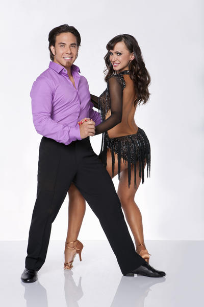 "<b>Partner:</b> Karina Smirnoff <br><br> <b>""Star"" cred:</b> Olympic gold medalist in speedskating <br><br> <b>Original season finish</b> Season 4, 1st <br><br> Apolo was great in his season, but as mentioned before when discussing Joey Fatone, it was a weak season. And he had Julianne Hough as his pro partner. I'd like to see him go far, but I think he may get outshone."