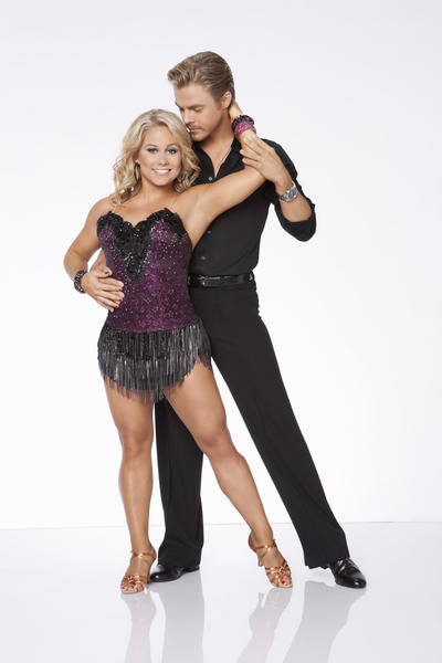 'Dancing With the Stars': We rank the returning 'All-Stars' cast [Pictures]: Partner: Derek Hough   Star cred: Olympic gold medalist gymnast   Original season finish: Season 8, 1st   Im still mad at Johnson for beating out Gilles Marini, my personal favorite of Season 8. But shes a good dancer, darn it, and she has the best pro on the show in Derek Hough. Shell go very, very far.