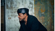 Bobby Womack picks up the phone, and speaks what's on his mind in a voice made of gravel.