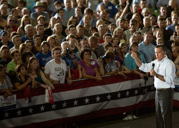 Mitt Romney was the clear choice over President Obama among white working-class Americans, a survey shows.