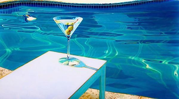 """Vacation"" by Glenn Ness is one of the pieces featured in the latest exhibit at Sue Greenwood Fine Art gallery."