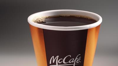 Free coffee for one week at McDonald's