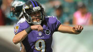 Rookie kicker Justin Tucker keeps a cool approach