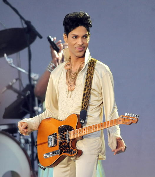 Prince performs at the Hop Farm festival in Paddock Wood, England, last year. He comes to Chicago to play the United Center next week.