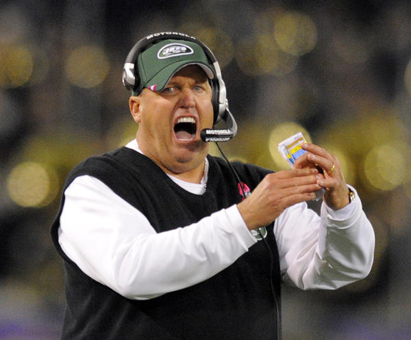Rex is the Latin word for king. It's also the first name of many a dog, and of New York Jets head coach Rex Ryan.