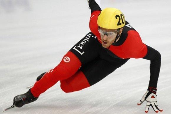 Canadian skater Olivier Jean.