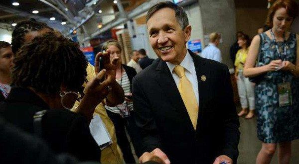 Rep. Dennis J. Kucinich (D-Ohio), shown at this month's Democratic National Convention in Charlotte, N.C., is a leading House opponent of the effort to establish a national park to recognize the nation's development of the atomic bomb.
