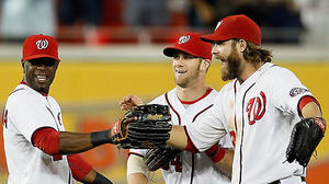 Nationals clinch first trip to postseason
