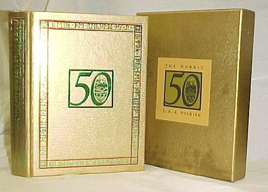 "A special collectors edition issued for the 50th anniversary of ""The Hobbit,"" listed for sale for $150."
