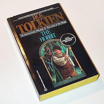 "Bilbo Baggins was not looking his best on the cover of this 1989 Ballantine paperback edition of ""The Hobbit."""
