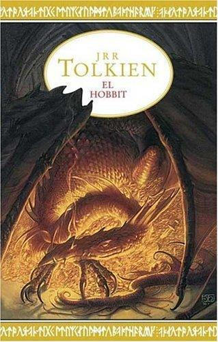 """El Hobbit"" in Spanish. Editions in several languages have similar covers."