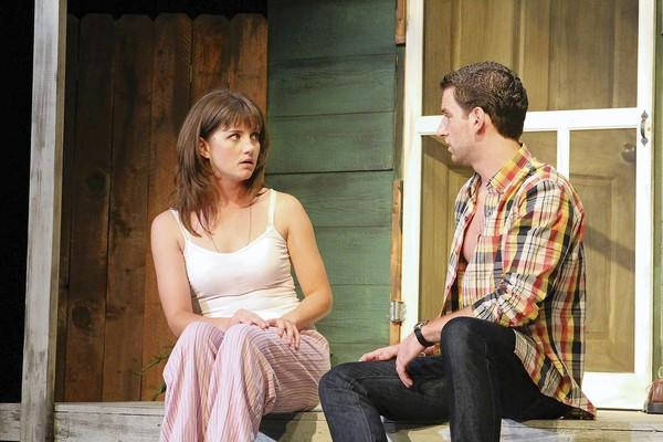 """Darcy Porter and Ben Green in """"Proof."""""""