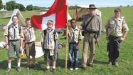 Boy Scouts from Troop 66 were among the 650 Scouts who for three days helped out at the 150th Battle of Antietam anniversary.