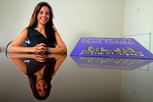 Samantha DeBianchi keeps a busy schedule as a real estate firm founder and owner and an adjunct professor teaching a nightclub operations course.