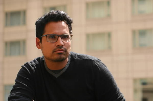 "Actor Michael Pena, who is promoting his film ""End of Watch,"" is photographed at NoMi in the Park Hyatt in Chicago."