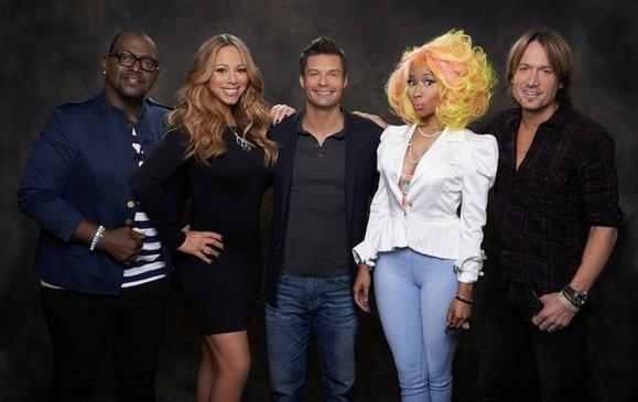 """American Idol"" host and judges"