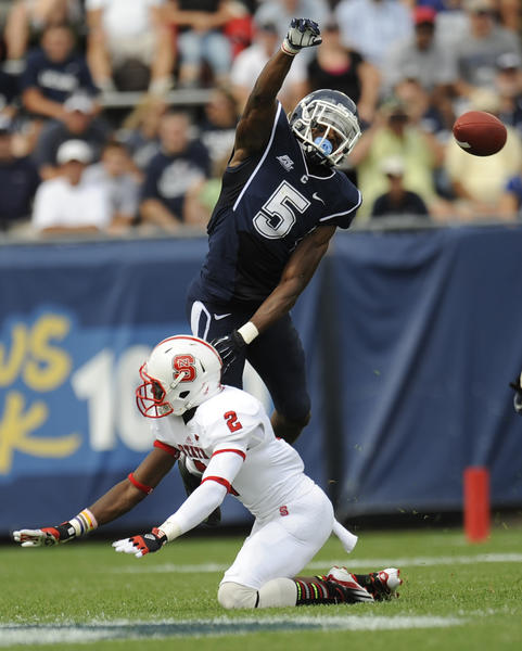 UConn coach Paul Pasqualoni said Blidi Wreh-Wilson [pictured], the Huskies` senior cornerback and captain, is probable for the game Saturday. Wreh-Wilson tweaked a hamstring last week and didn¿t play against the Terps. Opposite senior Dwayne Gratz, who had an interception in the 24-21 win over Maryland, was junior Taylor Mack, who filled in nicely. The Huskies also played a lot of three safety sets with freshman Andrew Adams joining Ty-Meer Brown and Byron Jones. Carder could see some of that; the UConn secondary certainly will see a lot of balls coming its way.Getting Wreh-Wilson back would be huge. Carder could go after Mack if Wreh-Wilson has a setback or is limited. Mack must be prepared.