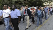 VIDEO 'Solidarity Walk' in Belair-Edison neighborhood