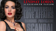 Lindsay Lohan 'scandalous' as Liz Taylor in Lifetime teaser
