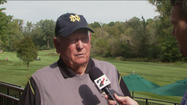 "<span style=""font-size: small;"">Golf legend Billy Casper is at Notre Dame this weekend for the Notre Dame-Michigan football game.  </span>"