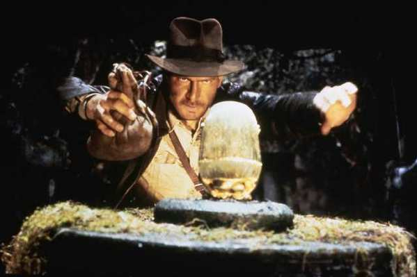 "Harrison Ford stars in the classic ""Raiders of the Lost Ark,"" part of a new box set collecting all four Indiana Jones movies directed by Steven Spielberg."
