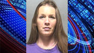 A woman has been arrested in connection with a series of check thefts in Johnson County.