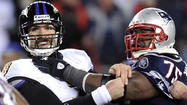 Patriots DT Vince Wilfork presents a big challenge for Ravens and new starter Harewood