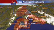 "Talkeetna officials called for evacuations in the face of major flooding Friday, the most serious crisis in a day that saw the city of Seward <a href=""http://www.ktuu.com/news/city-of-seward-declares-emergency-due-to-flooding-091912,0,7929951.story"">recovering from Thursday flooding,</a> Matanuska River waters rising in Butte and Gov. Sean Parnell declaring a disaster in much of Southcentral Alaska."