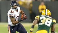 <b>Lovie Smith</b> said  <b>Matt Forte</b> has made progress with his sprained right ankle. But Forte did not practice all week and  has been ruled out for Sunday's game against the Rams at Soldier Field.