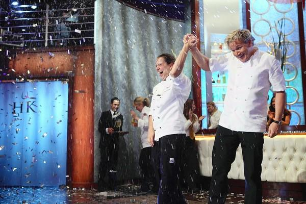 Christina Wilson, a Phillipsburg native, is named the winner of Fox's 'Hell's Kitchen' by Gordon Ramsay.