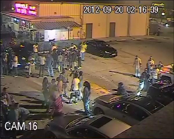 Broward Sheriff¿s detectives are searching for two men who pepper-sprayed a crowd of party-goers in Weston then robbed one and critically injured another