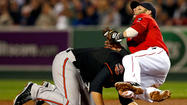 BOSTON — The Orioles arrived at Fenway Park on Friday focused on continuing their march toward the playoffs. The Boston Red Sox were waiting, their focus and motivation an open question after a season gone terribly awry.