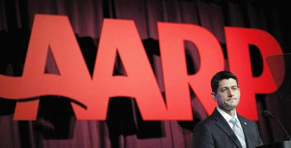 Paul Ryan got a less-than-friendly response to his speech at the AARP convention in New Orleans.