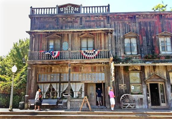 The Union Hotel in Los Alamos, California, is a perfectly preserved slice of the Old West with a saloon to match