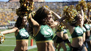 <b>Pictures:</b> College football cheerleaders