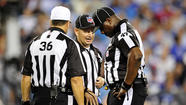 NFL replacement officials are making a lot of mistakes in games, have you heard?