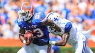 Pictures:  Florida Gators vs. Kentucky Wildcats